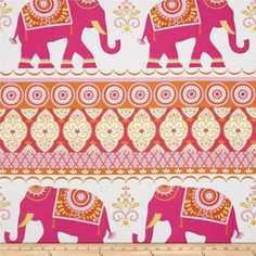 Sundara Oasis Kalindi Pink from @fabricdotcom  Designed by Dena Designs for Free Spirit, this cotton print fabric is perfect for quilting, apparel and home decor accents. Colors include tan, white, shades of orange, shades of pink, and shades of yellow.