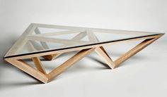 Trivoid coffee table, Tomek Archer, Tomahawk Studios