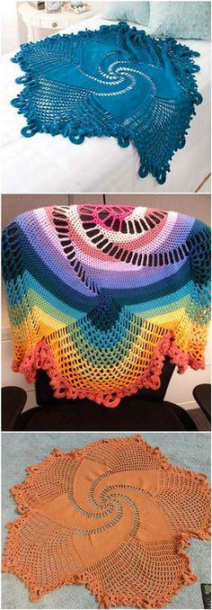 Crochet Mandala Throw - 60+ Free Crochet Mandala Patterns - Page 5 of 12 - DIY & Crafts