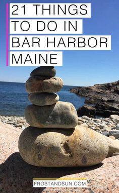 Enjoy nature, good food + lots of fun in Bar Harbor and Mount Desert Island, Maine. Here are my top 21 things to do in Bar Harbor. Maine Road Trip, East Coast Road Trip, Road Trips, New England States, New England Travel, Canada Cruise, Grand Canyon Camping, Bar Harbor Maine, Visit Maine