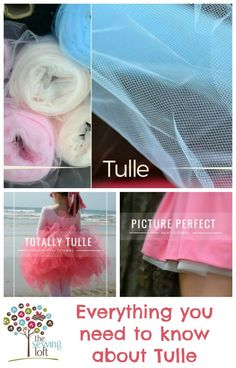What is tulle? What's it made from? Links to sewing tips and projects for using up all that glorious tulle too.