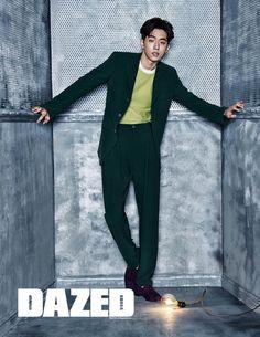 Nam Joo Hyuk - Dazed & Confused, February 2016