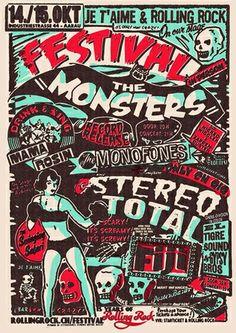 Maert Infanger, Je t'aime & Rolling Rock Festival