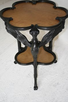 Art Nouveau Table by Emile Galle-1900. Mad about this.