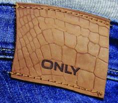 etiqueta de cintura para jean reptil.