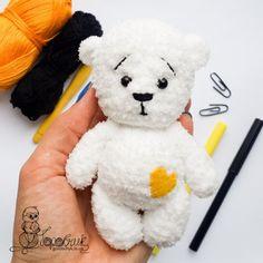 плюшевый медведь крючком мастер класс