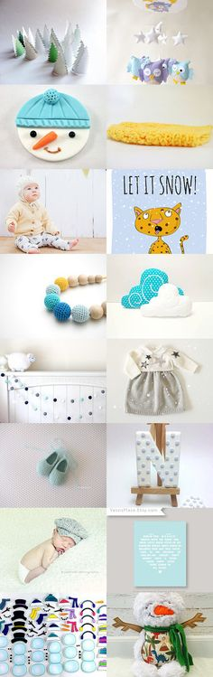 Oh my sweet snowman! by Kamila on Etsy--Pinned with TreasuryPin.com
