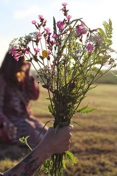 Picked - wild flowers - Sisterhood Camp 2015 - photo by Melanie Barnes - Geoffrey & Grace