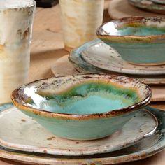 Etta B Dinnerware - Ceramic Art, Ceramic Pottery Pottery Plates, Slab Pottery, Thrown Pottery, Ceramic Pottery, Pottery Art, Pottery Shop, Glazed Pottery, Painted Pottery, Ceramic Clay