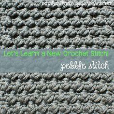 Pretty Pebbles 8x8 inch square • Oombawka Design Crochet