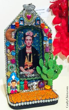 Diary of a Crafty Chica: Pictures from our Phoenix Fridas show!