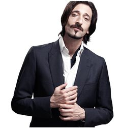 Adrien Brody.  It's almost strange how attractive he is.  Plus, few men can pull off a 'stache like he can.