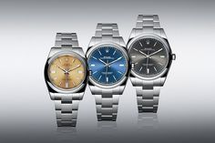 The new Rolex Oyster Perpetual series