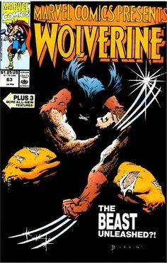 Marvel Comics Presents # 63 by Bret Blevins