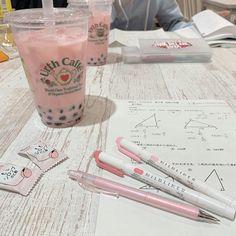 Study Desk, Study Space, Studyblr, Korean Aesthetic, Pink Aesthetic, Study Room Decor, Cute School Supplies, Aesthetic Room Decor, Study Inspiration