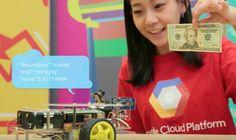 Cloud vision on a Pi robot