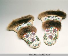 Beaded Mittens :: University of Alaska Museum of the North