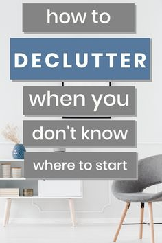 I'm giving away my Declutter Secrets that will help you declutter your entire home.  These tips will give you declutter ideas to help you get organized and remove the clutter from your life. If you are overwhelmed and need to declutter to give you piece of mind these declutter tips will help. #declutter #clutter #organization Declutter Your Home, Organize Your Life, Clutter Organization, Getting Organized, Tips, Room, Ideas, Home Decor, Bedroom