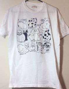 782aa596ba3 Vintage Cats T shirt 9 Lives Siamese Cat Kitty Cat Fat Cat Souvenir  Collectible  President  GraphicTee. L K · Women s Vintage Clothing