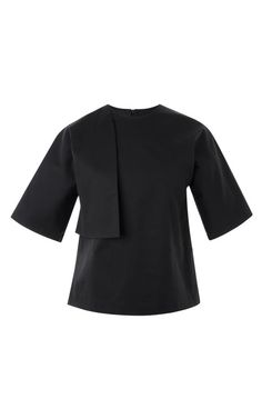 Half Vested T-Shirt Blouse by A.W.A.K.E for Preorder on Moda Operandi