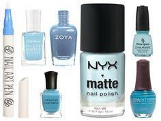 Nail Polish Color Trends, Spring 2012, Nail Polish, Nail Lacquer, polish, manicure, dior, butter, sally hansen, zoya, essie, l'oreal, uslu, lcn, essie, mac, m.a.c, lippmann, rgb, nails inc., sparitual, givenchy, estee lauder, china glaze, kashuk, sonia kashuk, nyx, topshop, tom ford, salon effects, nail art pen, polish strips, blue, blue polish, blue nail polish