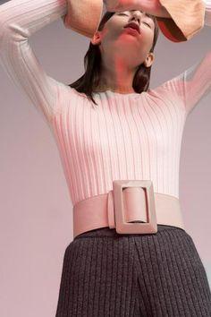 Bell-Sleeve Knit Shirt