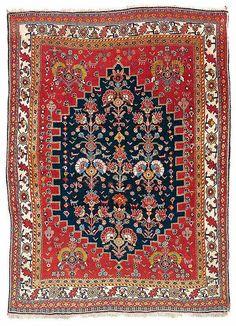 Qashquli Qashqai Rug 19th Century Fars Province