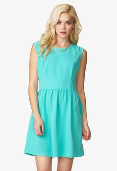 Cap Sleeve Dress - Dresses - 2022799238 - Forever 21 EU English