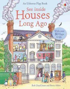 Usborne See Inside Houses Long Ago