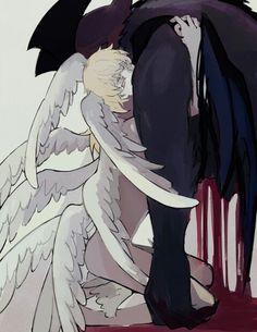 DevilMan ✞ (CryBaby/ OVA) ✞ Akira Fudo and Ryo Asuka #Anime #Manga #Netflix デビルマン