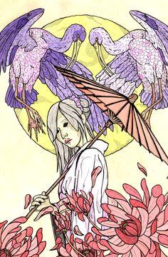 geisha birds