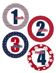 Baseball theme Monthly baby one-piece Stickers - Boy Months Baby Shower Themes, Baby Boy Shower, Baby Monthly Milestones, Monthly Baby, Funny Baby Shower Gifts, Baby Month Stickers, Baby Boy Nurseries, Baby Month By Month, Basketball Shooting