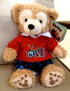 Disney Duffy Bear 2013 Mickey Mouse NEW Disney