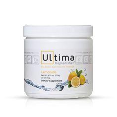 Ultima Replenisher Lemonade, Canister, 30 Serving Ultima ...