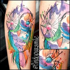 watercolor tattoo Based off the amazing @ondrashtattoo  Possible best fran tattoo?!?! @Michelle Flynn Flynn Stewart
