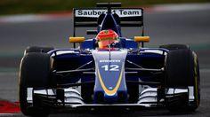 Felipe Nasr Sauber F1
