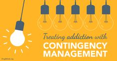 People suffering from a drug or alcohol #addiction--something that their #brain has been trained to tell them is right. Contingency Management is one approach to reversing the idea that bad behavior, like #abusing drugs, is a good thing.
