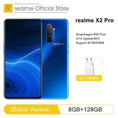 Global Version realme X2 Pro 8GB RAM 128GB ROM Mobile Phone Snapdragon 855 Plus 64MP Quad Camera NFC Cellphone 50W Fast charger  Price: 810.98 & FREE Shipping  #freeshippingworldwide Quad, Custom Checks, Android 9, Charger, Things To Sell, Phone, Special Promotion, Awesome, Blog