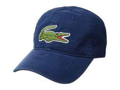 ba59d2c2c9a Lacoste Big Croc Gabardine Cap