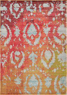 Rust Red 215cm x 305cm Casablanca Rug | Area Rugs | Rugs.ca
