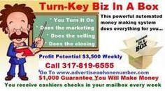 Perfect For Retiree's All You Do Is Advertise Phone # Making $3,500 Weekly Autopilot Perfect For Retiree's This Could Be Your Number 317.819.6555
