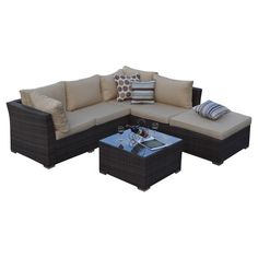 5-Piece Lulu Patio Seating Group | Joss & Main