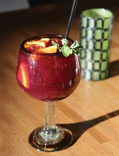 Sangria Roja | Edible Feast via Edible Allegheny #ediblelibations