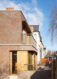 Haringey Brick House by Satish Jassal Architects
