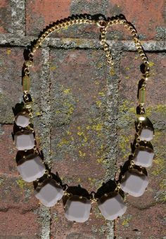 Square Bubble Necklace  - Free Shipping