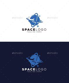 Space Logo - Objects Logo Templates Logo Design Template, Logo Templates, Best Logo Design, Cool Logo, Objects, Space, Poster, Floor Space, Best Logo