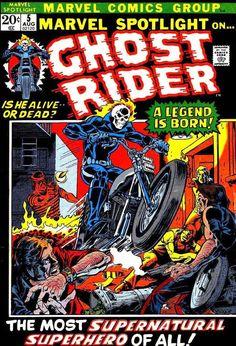Marvel Spotlight #5, 1st Appearance of Ghost Rider - Johnny Blaze