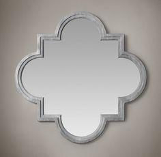 Weathered Zinc Single Fez Mirror Mediterranean Style, Restoration Hardware Mirror, Eclectic Mirrors, Cool Mirrors, Mirror Mirror, Magic Mirror, Moroccan Design, Moroccan Style, Rustic Furniture