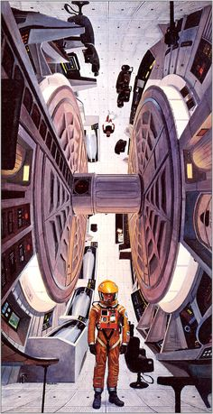 Robert McCall, Inside the 2001 Spaceship