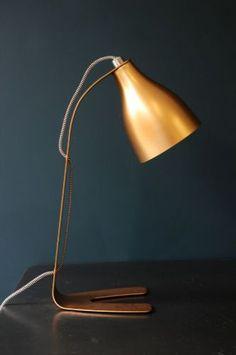 Copper Barefoot Desk Lamp
